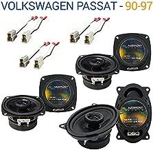 Compatible with Volkswagen Passat 1990-1997 OEM Speaker Upgrade Harmony 2 R4 R46 Package New