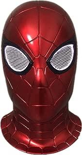 ke Spiderman Mask Movie 2019 Away from Headdress Cosplay Halloween Costume Spiderman Glowing mask Gloves