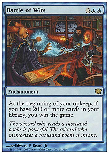Magic The Gathering - Battle of Wits - Ninth Edition