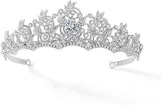 Vaxiuja-jewelry Bandeau de mari/ée boh/ème diad/ème Bandeau de Mariage en Cristal de Vigne de Cheveux pour la mari/ée Or Accessoires de Cheveux de Mariage Coiffe de Mariage
