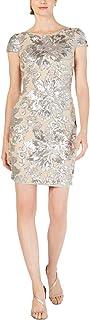 Calvin Klein womens Short Sequin Sleeve Dress Dress