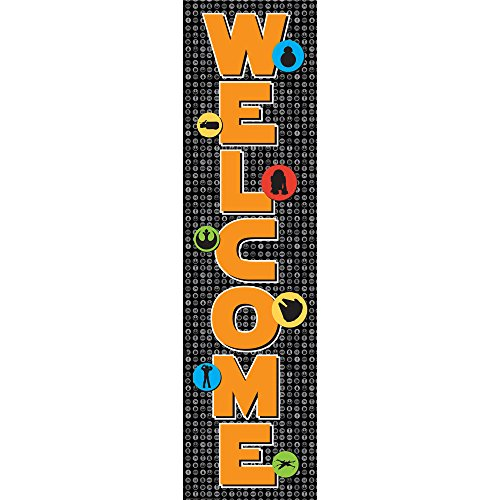 Eureka Star Wars Super Troopers Welcome Banner for Classrooms, 1pc