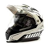 Wulfsport 2019 Prima-X Dual Sport Adventure Adult Helmet Road Legal Twin Visor