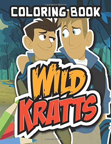 Wild Kratts Coloring Book: Jumbo Coloring Book for Kids Ages 4-8