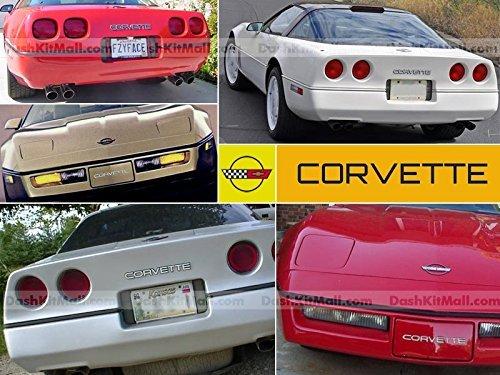 corvette c4 chrome letters - 4