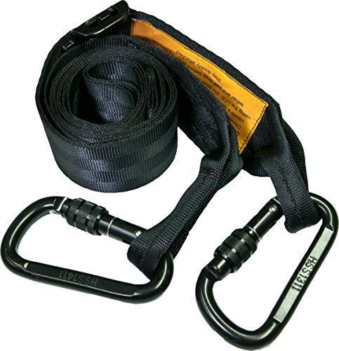 Hunter Safety System LCS Lineman's Climbing Strap, Black Original version