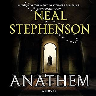 Anathem                   By:                                                                                                                                 Neal Stephenson                               Narrated by:                                                                                                                                 Oliver Wyman,                                                                                        Tavia Gilbert,                                                                                        William Dufris,                   and others                 Length: 32 hrs and 26 mins     251 ratings     Overall 4.5