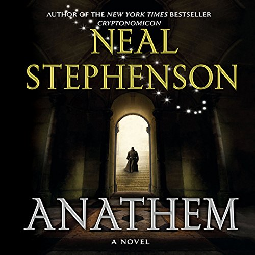 Anathem                   By:                                                                                                                                 Neal Stephenson                               Narrated by:                                                                                                                                 Oliver Wyman,                                                                                        Tavia Gilbert,                                                                                        William Dufris,                   and others                 Length: 32 hrs and 26 mins     5,379 ratings     Overall 4.3
