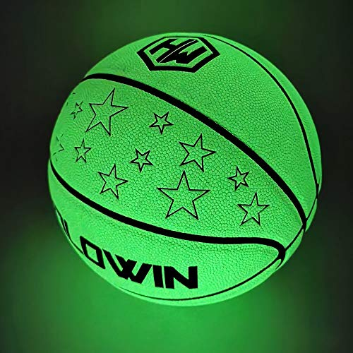 Save %10 Now! HOLOWIN Luminous Basketball Light Up in The Dark Balls for Night Training Games for Me...