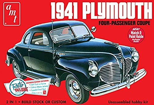 AMT 1941 Plymouth Coupe - 1 25 Scale voiture Kit by AMT