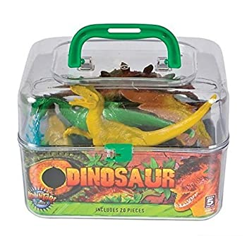 Adventure Planet Dinosaur Set with Carrying Case 20-Piece