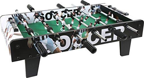 small foot 10248 Tischfußball aus Holz, Kicker-Tisch kann auf jeder Tischplatte platziert werden, ab 5 Jahre