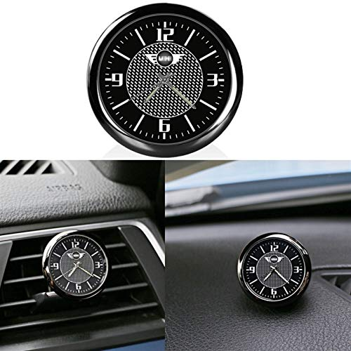 OutdoorKing Für Mini Für Cooper One JCW R53 R55 R56 R60 F55 F60 Universal Auto Uhr Outlet Dashboard Clock Clip Innendekoration Zubehör