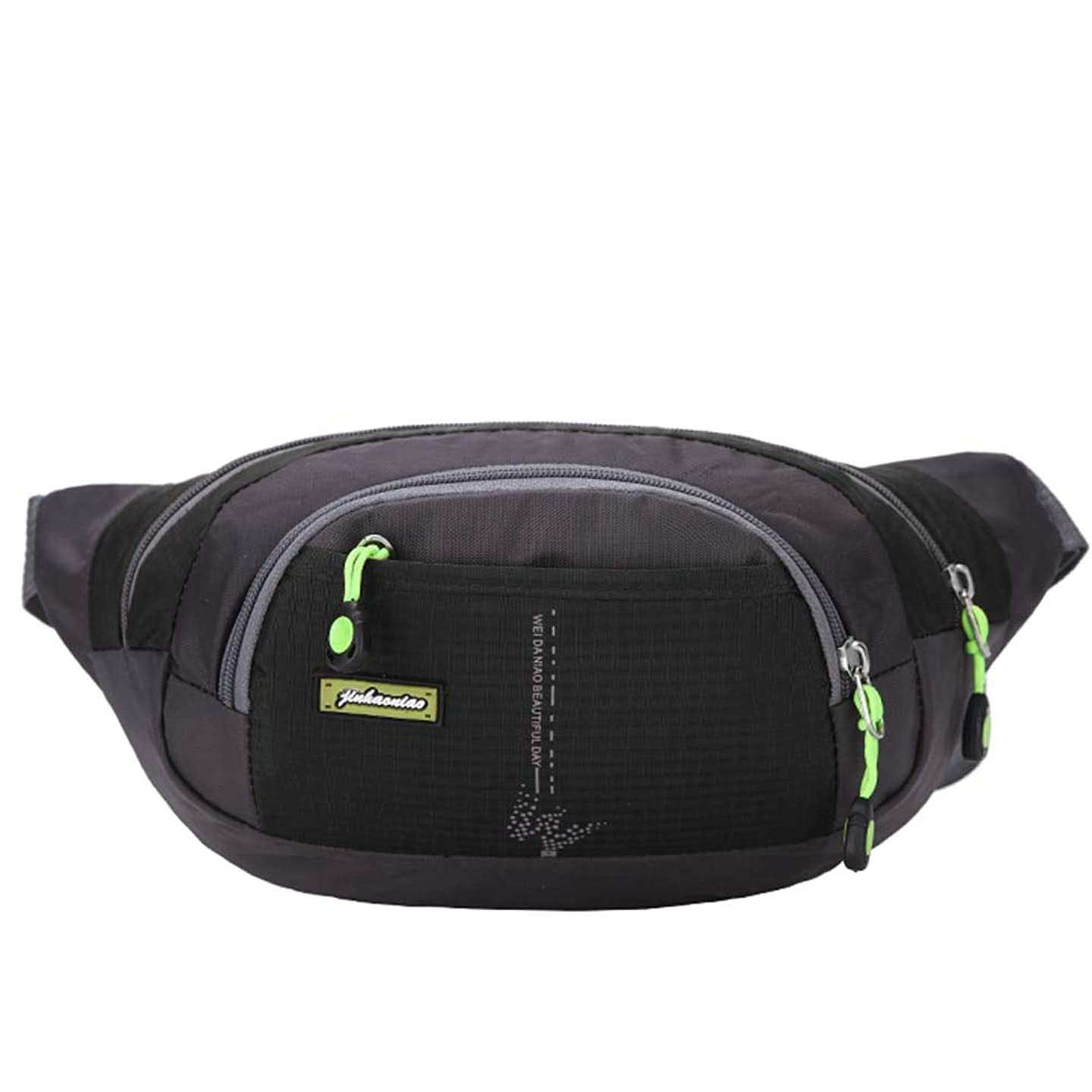 Bowbof - Bright color Waterproof Waist Bag Outdoor Bags Sport Messenger Bag Travel Camping Hiking Waist Chest Pack Pouch Large Capacity