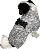 Schwarzer Strickpulli XXL mit Knochen für Hunde – Stark reduziert – Dogs Stars - 6