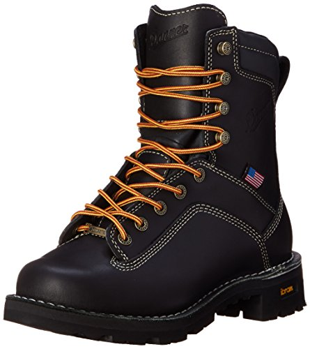 Danner Men's Quarry USA 8-Inch BL Work Boot,Black,10 D US