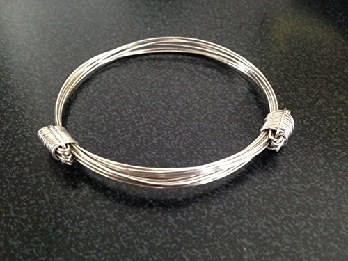925 sterling silver Elephant hair bracelet