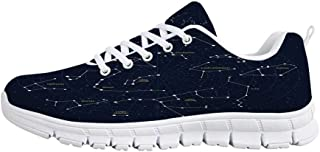TecBillion Constellation Comfortable Sports Shoes,Deep Down in Outer Space Complex Supernova Phenomenal Dynamic Universe Image for Men & Boys,US Size 6.5