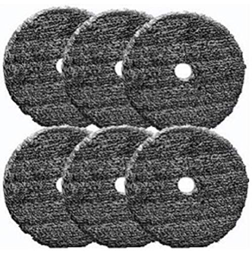 Buff and Shine URO-Fiber Pad for Compounding and Polishing- 5 inch 6 Pack