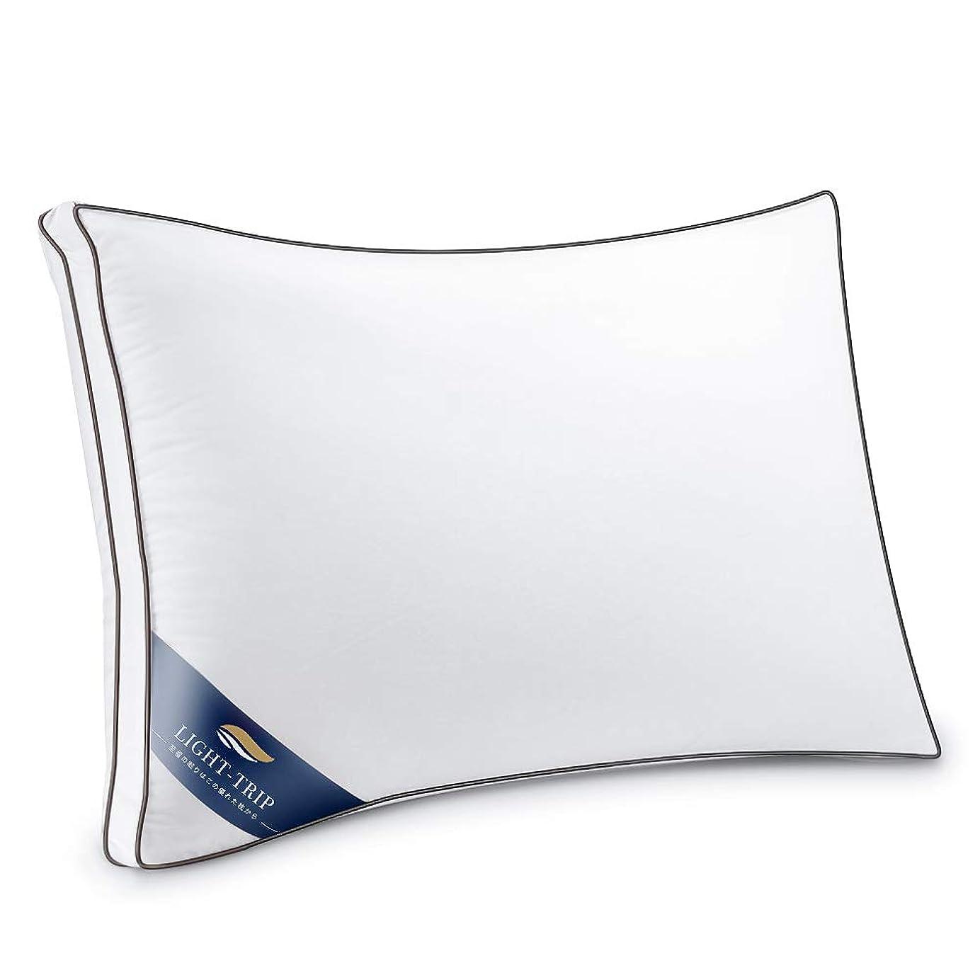 つかの間以降クール枕 安眠 人気 肩こり 快眠枕 安眠枕 高反発枕 安眠 高級 ホテル 丸洗い 洗える 防湿 通気 抗菌 ふんわり 柔らか 高度調節可能 熟睡 立体構造 43x63cm ホワイト