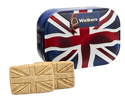Walkers Shortbread Union Jack - Original englische Butterkekse in einer Union Jack Blechose (120g)