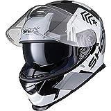 Best Motorcycle Helmets - Shox Assault Evo Recoil Motorcycle Helmet M Black Review