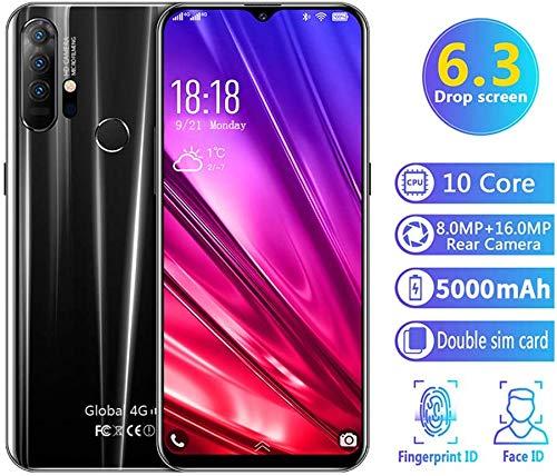 P30 Smartphone Android 9.1 batería 4800 mah, Pantalla 6.28'' HD+ MAX Vision, camaras 16MP y 8MP, 6GB RAM, 128 GB, Dual SIM