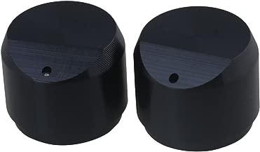 5 x noir 6mm pointeur potentiomètre bouton de commande