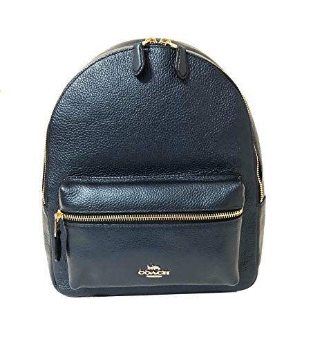 Coach F30550 Medium Charlie Backpack (IM/Metallic Denim)