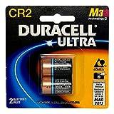 Duracell Ultra Lithium Battery 3V, CR2, 2 Batteries (Pack of 2)