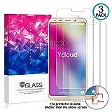 Ycloud [3 Pack] Protector de Pantalla para Bluboo S8,[9H Dureza/0.3mm],[Alta Definicion] Cristal Vidrio Templado Protector para Bluboo S8