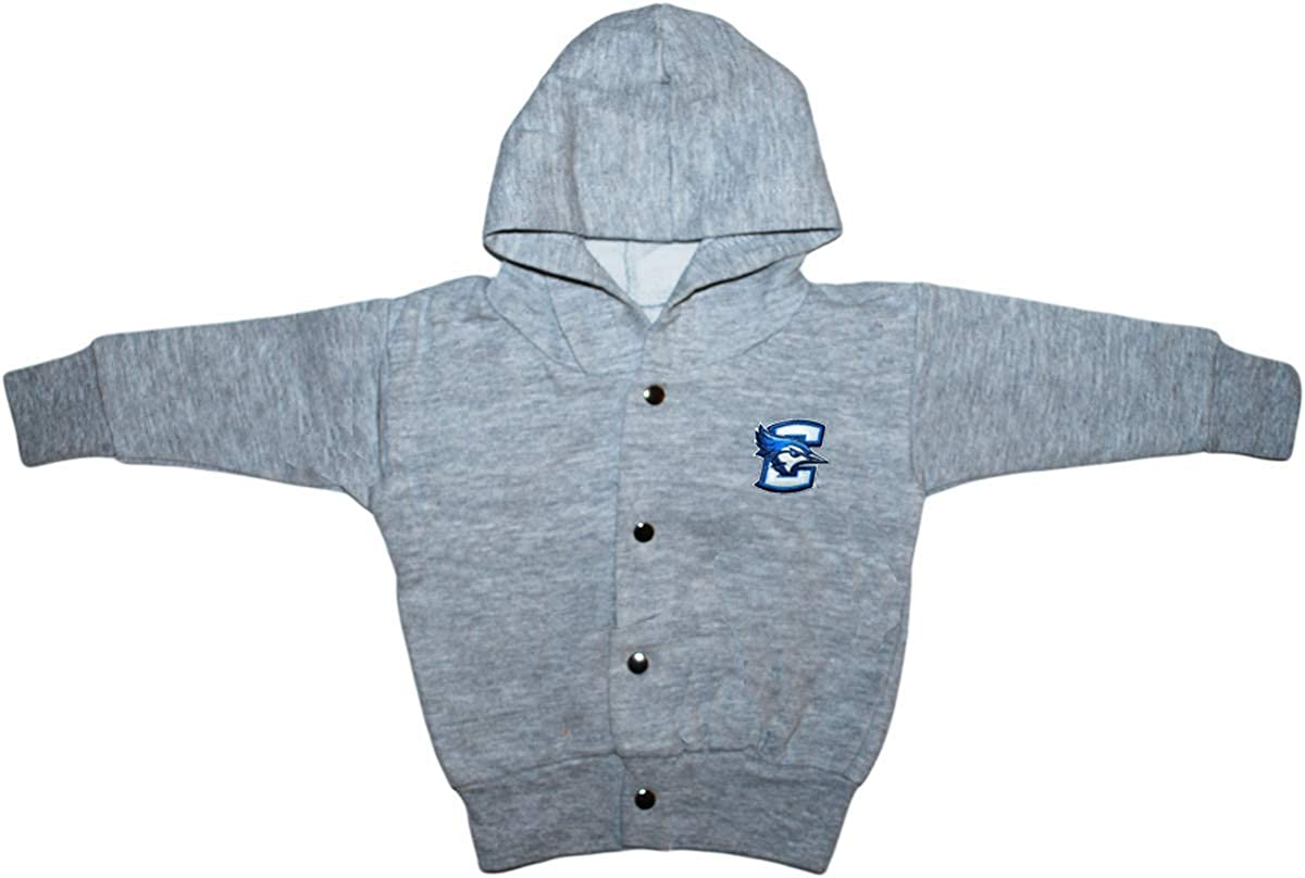 Free shipping Creighton University Max 81% OFF Bluejays Baby and Jacke Hooded Snap Toddler