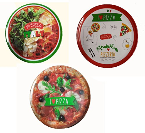 OEM SYSTEMS Plato Pizza melamina 33 cm Decorado 22454 Beta