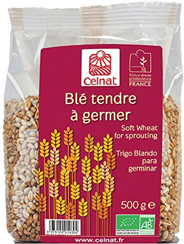 CELNAT - BLE TENDRE A GERMER 500G