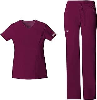 Cherokee Workwear 4101 Women/'s Flare Leg Scrub Pant Pick Size/&Color