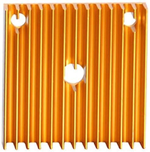 SAXTEL Disipador Térmico Ánodo Hoja Mini Partes Ventilador de Refrigeración...