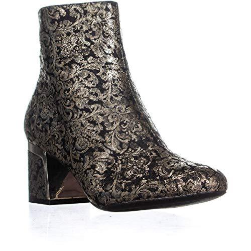DKNY Frauen Corrie Ankle Pumps rund Fashion Stiefel Schwarz Groesse 9 US /40 EU