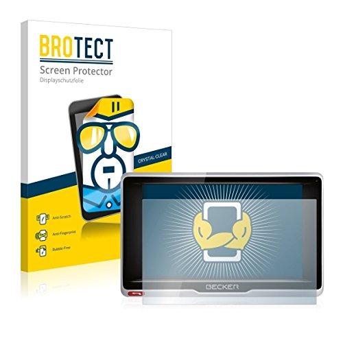 2X BROTECT HD Clear Displayschutz Schutzfolie für Becker Active.5 LMU Plus (kristallklar, extrem Kratzfest, schmutzabweisend)