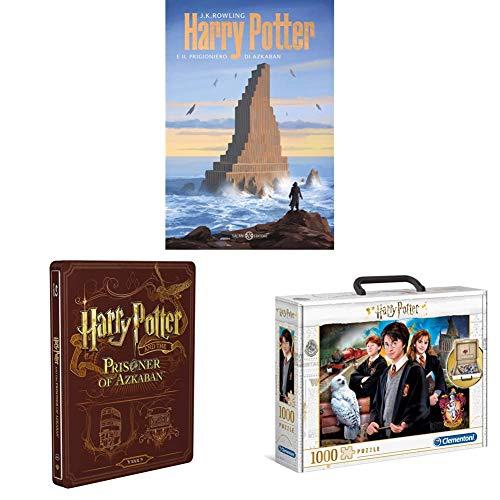 Harry Potter E Il Prigioniero Di Azkaban (Steelbook + Libro) + Puzzle Clementoni Harry Potter