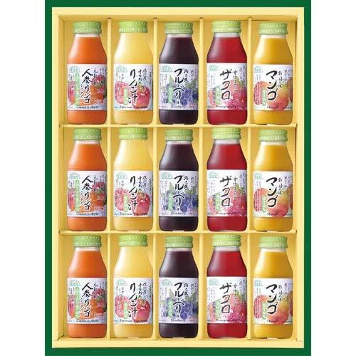 ジュースギフト 夏のベジ&フルーツジュースセット 180ml×15本 順造選 お中元 夏ギフト