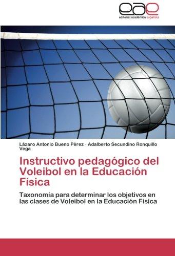 Instructivo pedagógico del Voleibol en la Educación Física: Taxonomía para determinar los objetivos en las clases de Voleibol en la Educación Física
