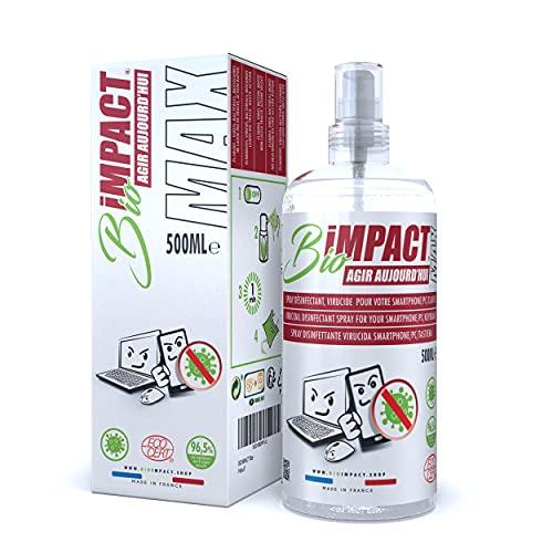BIOIMPACT MAX | Virucida Spray Disinfettante | Pulizia Monitor | Pulizia Schermo PC | Spray...