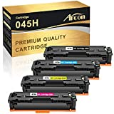 Arcon Compatible Toner Cartridge Replacement for Canon 045 045H CRG-045H CRG-045 Color ImageCLASS MF634Cdw MF632Cdw LBP612Cdw Canon MF634Cdw MF632Cdw LBP612Cdw MF632 MF634 Laser Printer Toner-4 Packs