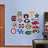 NCAA SEC Logo Collection Wall Graphic