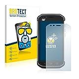 BROTECT 2X Entspiegelungs-Schutzfolie kompatibel mit Caterpillar Cat S40 Bildschirmschutz-Folie Matt, Anti-Reflex, Anti-Fingerprint