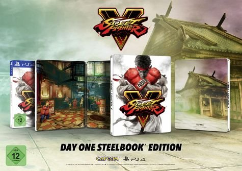 Street Fighter V Limited Edition Steelbook (PS4)