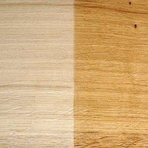 FEINSCHNITTkreativ Eiche-Massivholz-Zuschnitt | Verschiedene Größen und Stärken | ideal für Bastel- und Sägearbeiten (450 x 150 x 10 mm | 2 Platten)