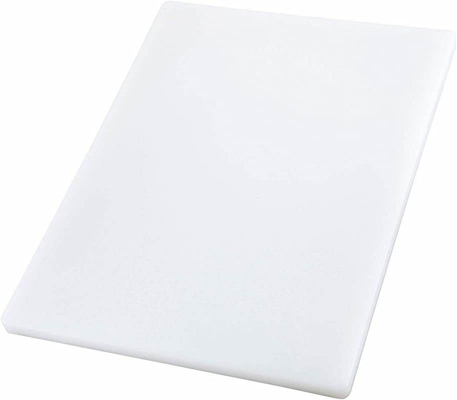 Winco CBXH 1824 Cutting Board 18 Inch By 24 Inch By 1 Inch White