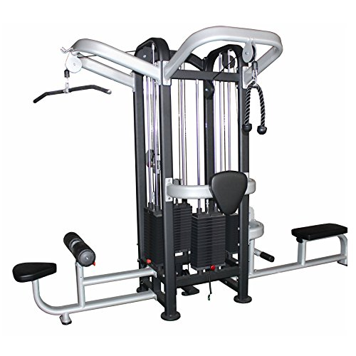 Bodymax Commercial 4 Stack Jungle Gym