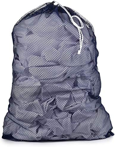 Commercial Mesh Laundry Bag Sturdy Mesh Material with Drawstring Closure Ideal Machine Washable product image